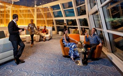 Celebrity Solstice Sky observation lounge